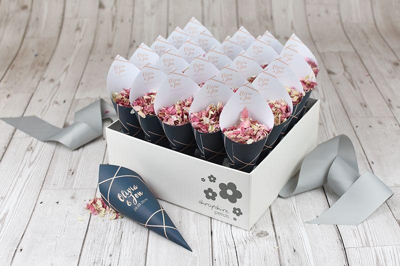 Confetti bouquets