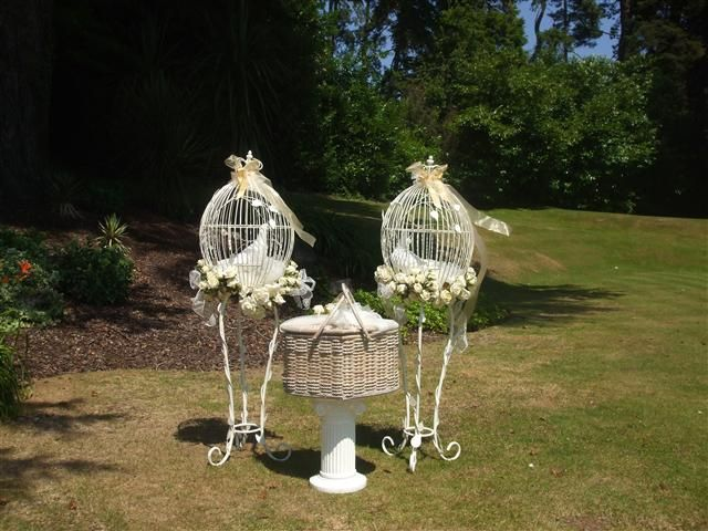 Dove Cages & Basket