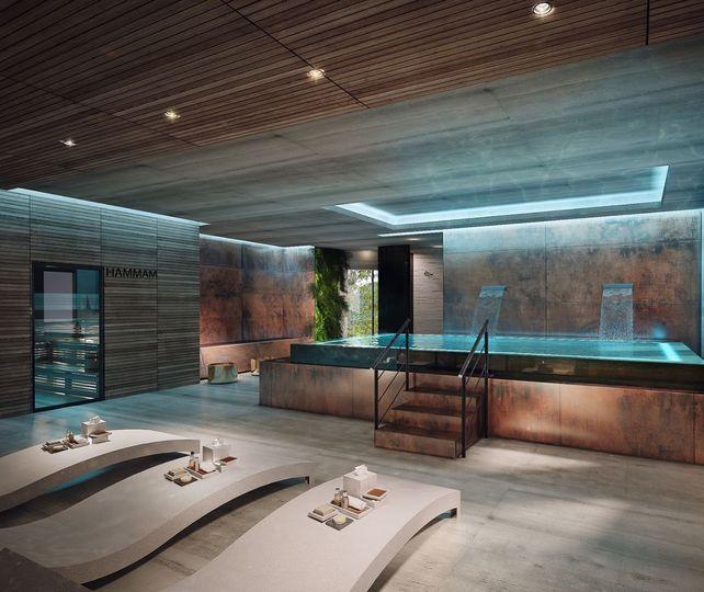 Luxurious spa