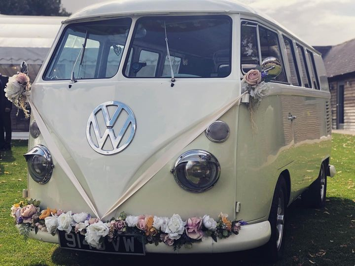 Classic cars with VW Brides