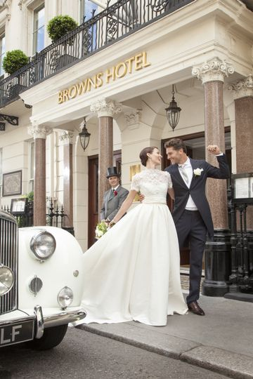 Weddings at Brown's Hotel