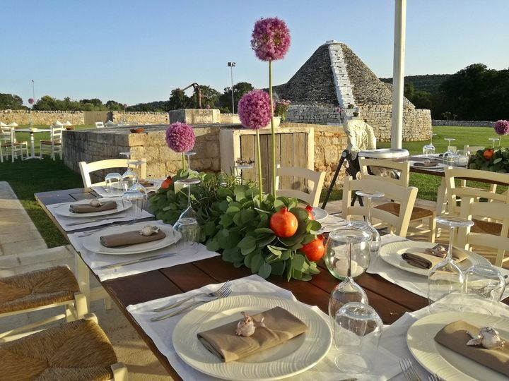 Masseria Papaperta wedding country chic