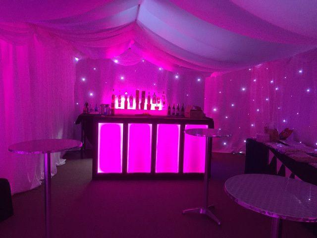 Event lighting & themed decor