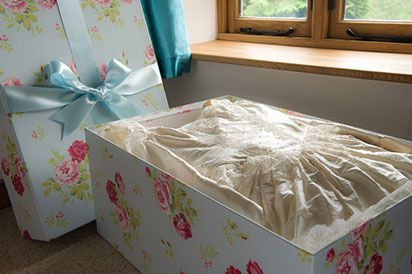 Boxes for your wedding dress