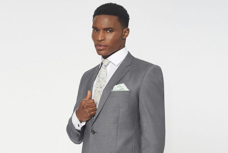 Simkins slim fit suit