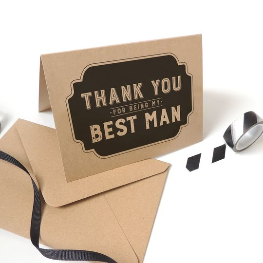 Best Man cards by Project Pretty