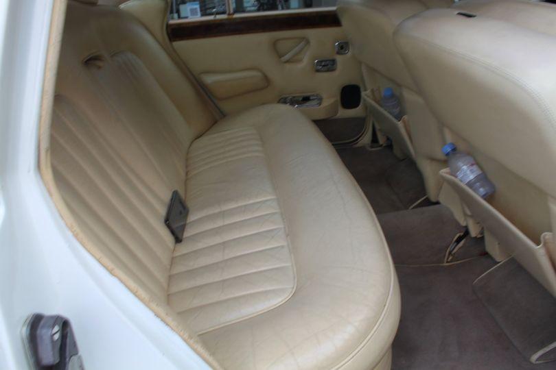 Interior of the Rolls Royce