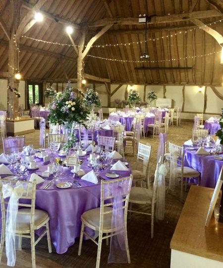 Lilac & Gold Wedding