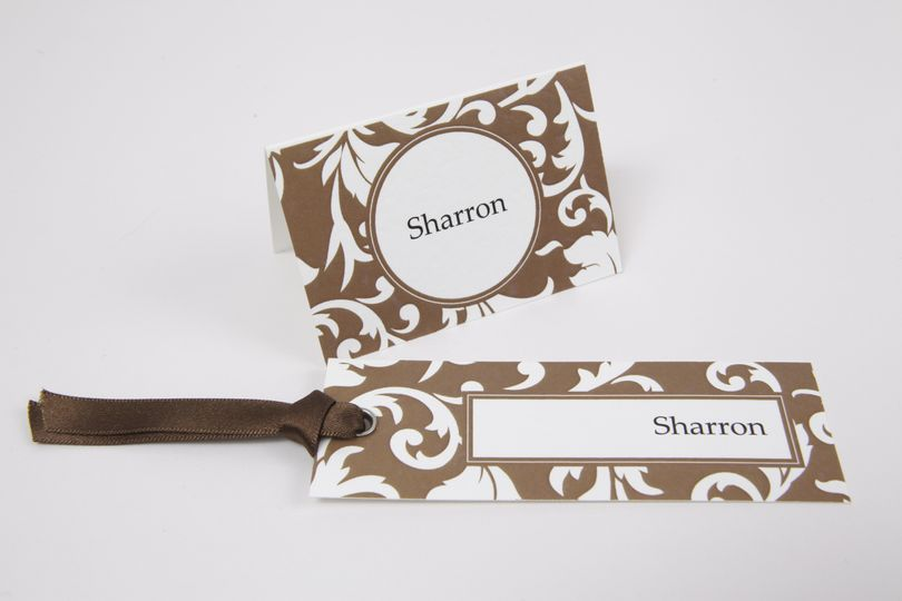 Handmade Name Place Cards