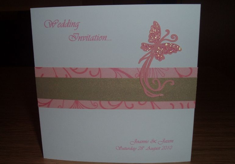 5Flutterby Butterfly Wedding Invitations