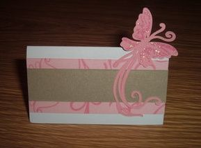 Flutterby place cards
