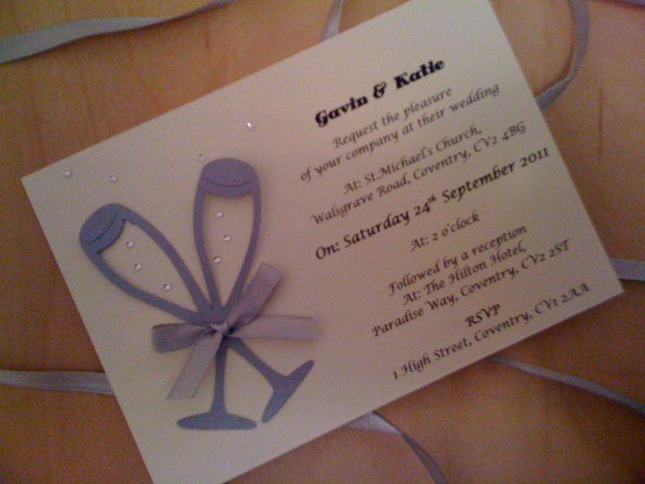 Champers Wedding Stationery