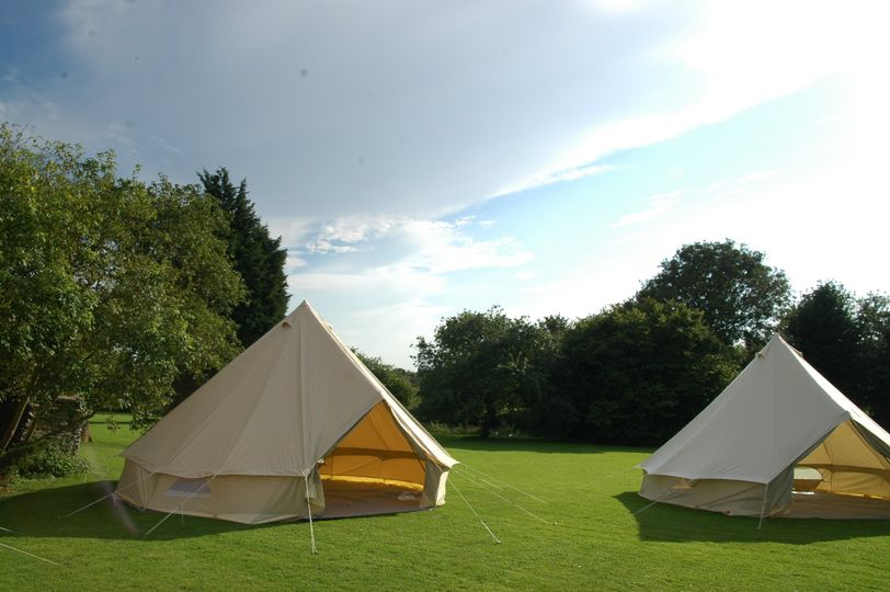 Lovely pair of tents!
