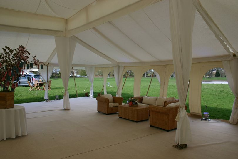 Open Murghal tent