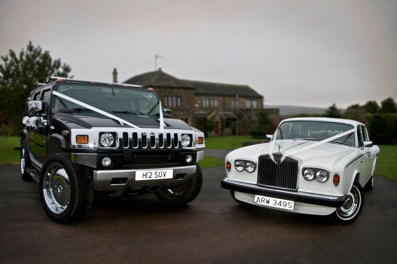 Huge Hummer & Rolls Royce