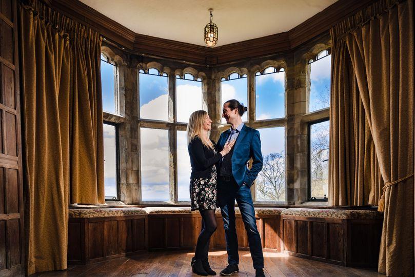 Lympne castle, pre-wedding