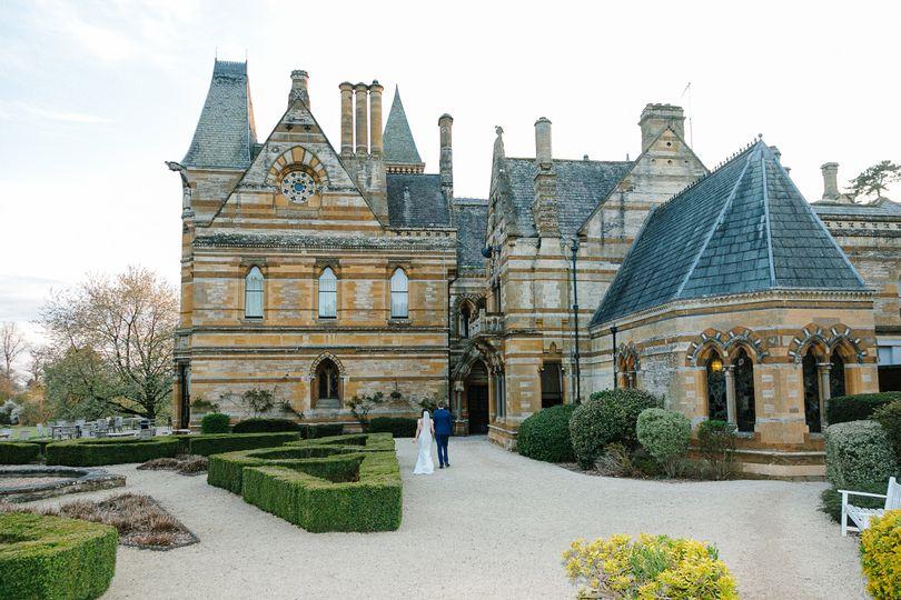 Victorian Gardens in Winter