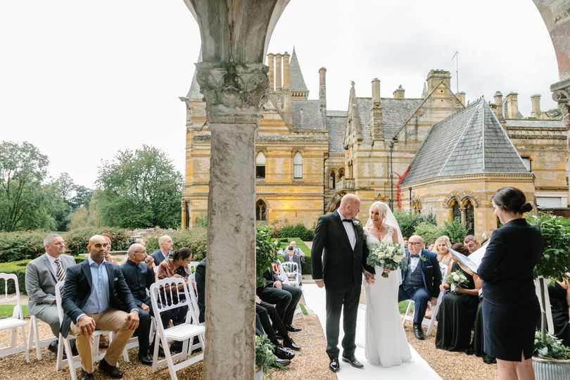 Wedding Ceremony - Orangery