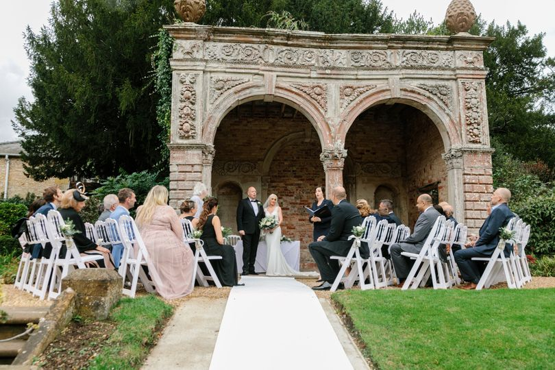 Outdoor Wedding - Orangery