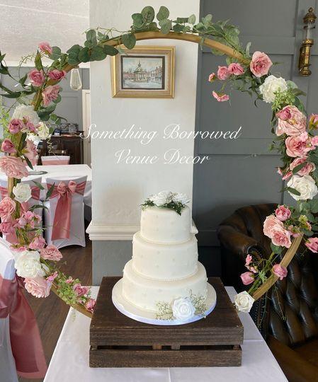 Our cake hoop