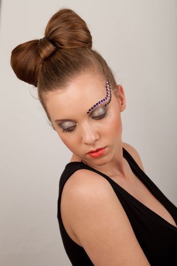 Fashion makeup and hair