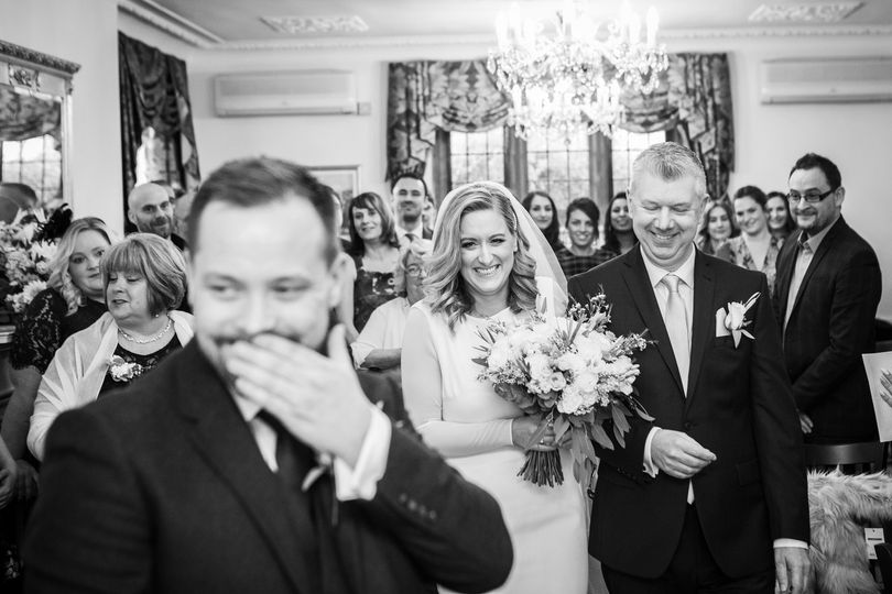 Wedding ceremony - Philip Bedford Wedding Photography