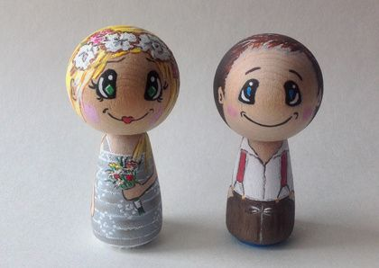 Country bride and groom