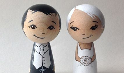 Firefly Cottage - Cake toppers 1