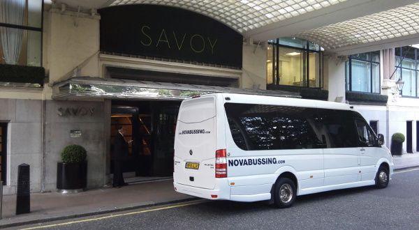 Luxury Minibus for London Wedd