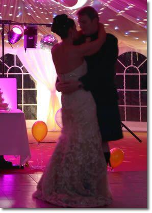 Amazing wedding disco