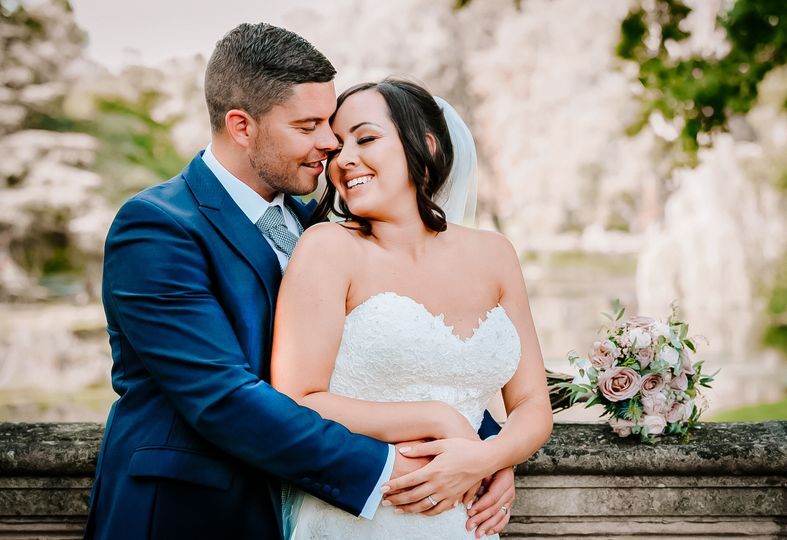 Intimate bridal portraits