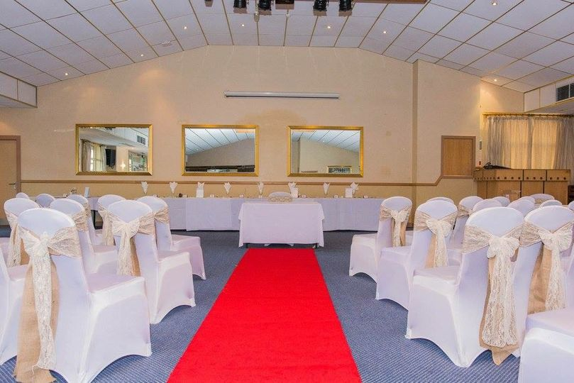 Chair cover & sashes hire