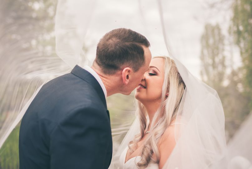 Veiled in a kiss - David Tinkler Photography