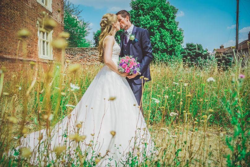 Country garden wedding - David Tinkler Photography