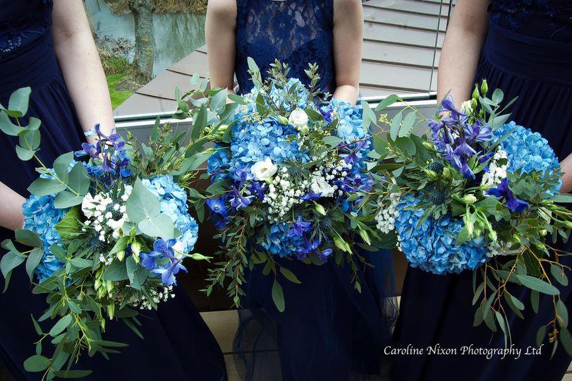 Bridal prep - flowers