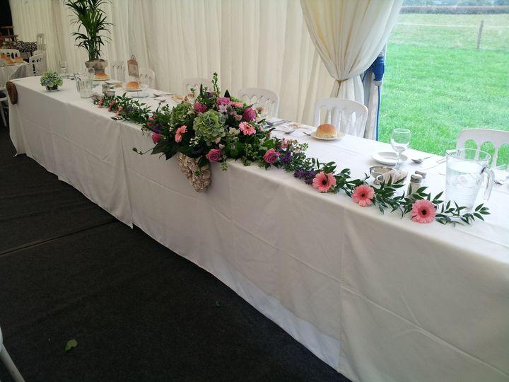 Top Table display