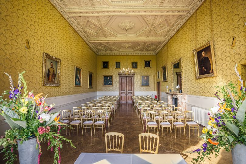 Grittleton House - Yellow Gallery