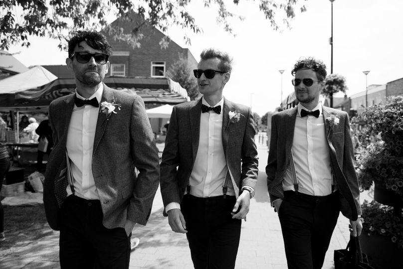 Dapper dudes - Coales Capture Wedding Photography