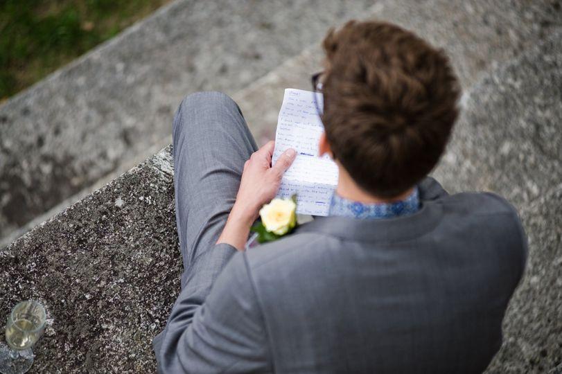 Solemn moment - Coales Capture Wedding Photography