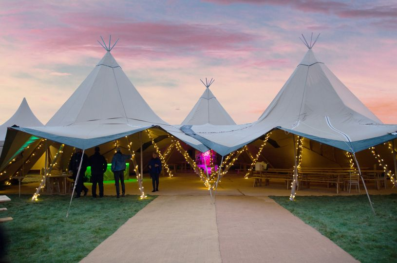 The Tipi at Beaumont Hall 12