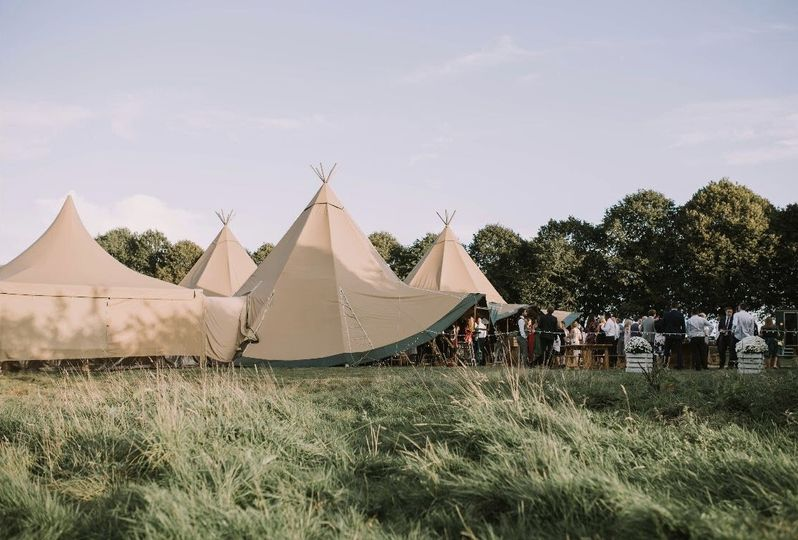 Tipis at Beaumont Hall 15
