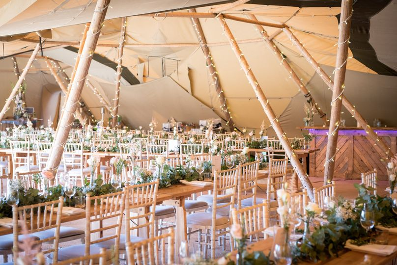 Tipis at Beaumont Hall 18