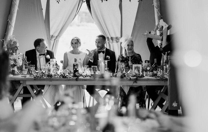 Wedding Breakfast - Top Table