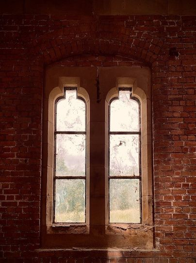 The architectural windows
