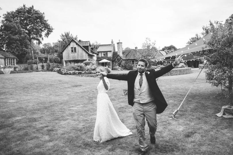 Announced as Husband & Wife