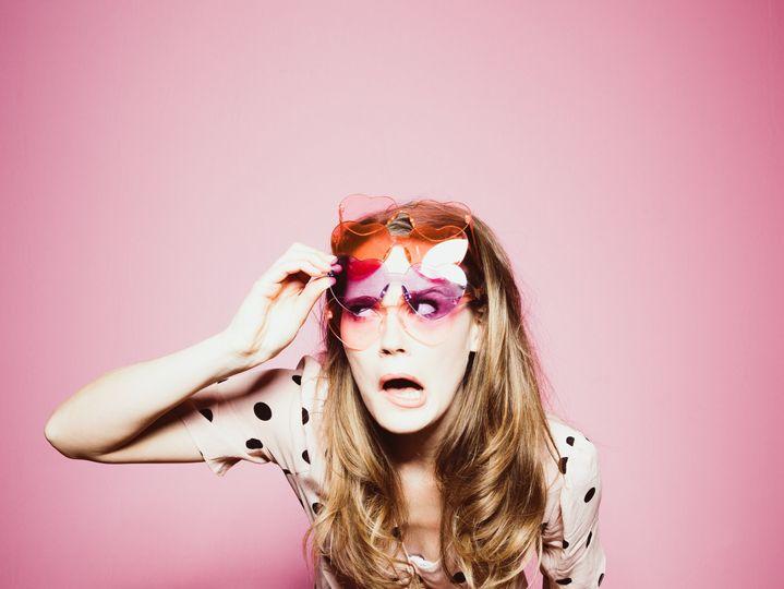 Heart Sunglasses Props