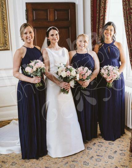 Wedding-party beauty