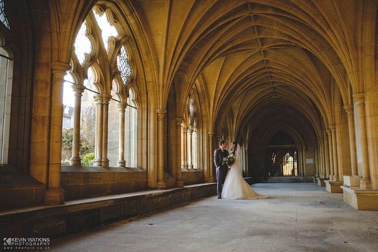 The happy couple - Kevin Watkins Wedding Films