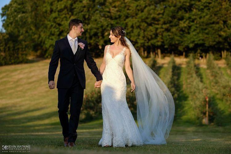 The bride and groom - Kevin Watkins Wedding Films