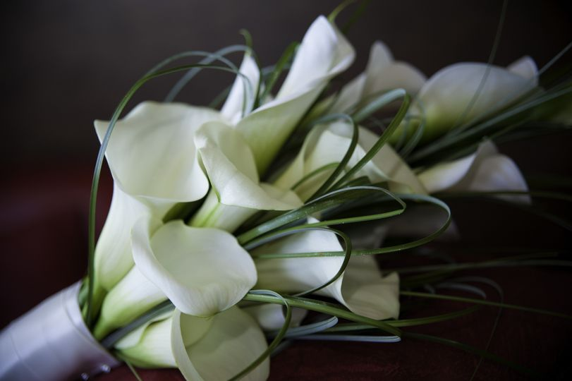 Flowers designed by a supplier